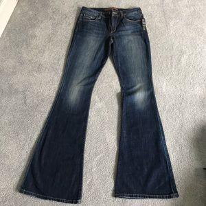 Joe's High Waist Wide Leg Gabriella Jeans Size 27